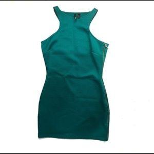 Mango Dresses - 3/$20 Mango Textured Bodycon Dress with Side Zip